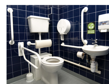 Image result for disabled bathroom
